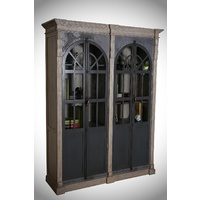 FRENCH DOME INDUSTRIAL DISPLAY CABINET