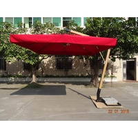 UMBRELLA SQUARE - FIBREGLASS FRAME
