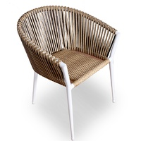 SPINIFEX WICKER WEAVE CHAIR - NATURAL PEAPOD