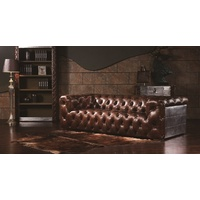 ESSEX 3 SEAT LEATHER LOUNGE