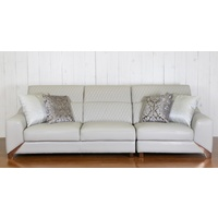 HARLEY & ROSE 3 SEAT LEATHER SOFA