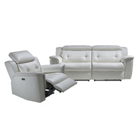LAZAR ELECTRIC RECLINER WITH ADJUSTABLE HEADRESTS